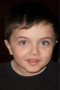 photo of young boy with autism from entry 1