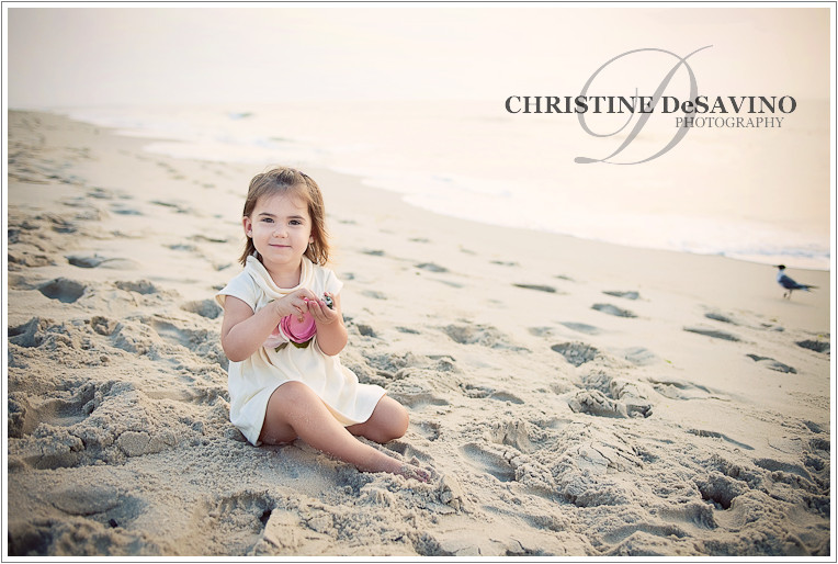 Child Photography On The Beach