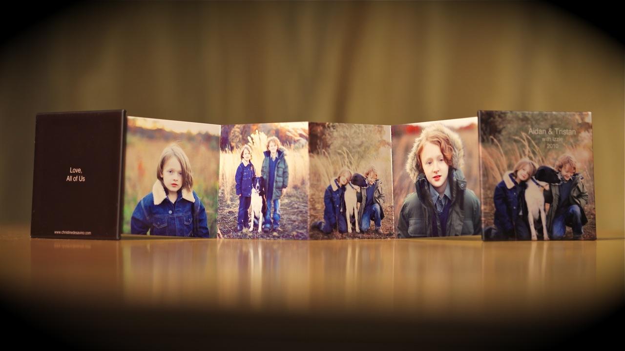 Mini-Accordian Album Front - NJ Child Photographer