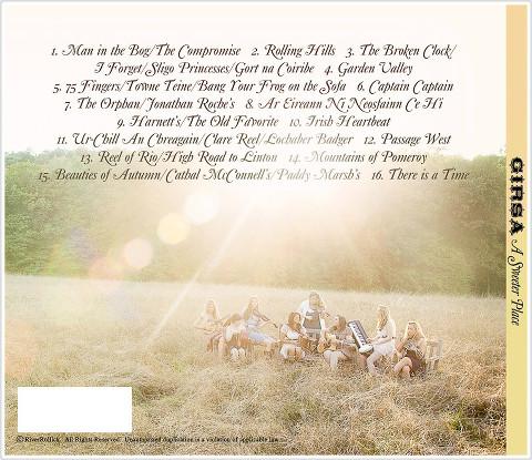 Girsa ~ A Sweeter Place Album back cover  - NY/NJ Band Photographer