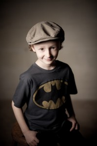 boy with batman shirt - child photographer