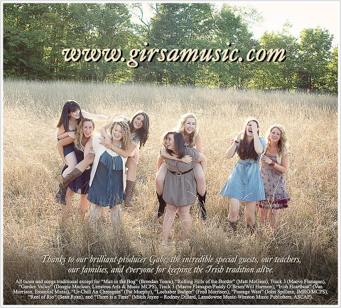 Girsa ~ A Sweeter Place Album inside cover  - NY/NJ Band Photographer